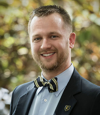 Photo of Gabe Hackett Admissions Counselor