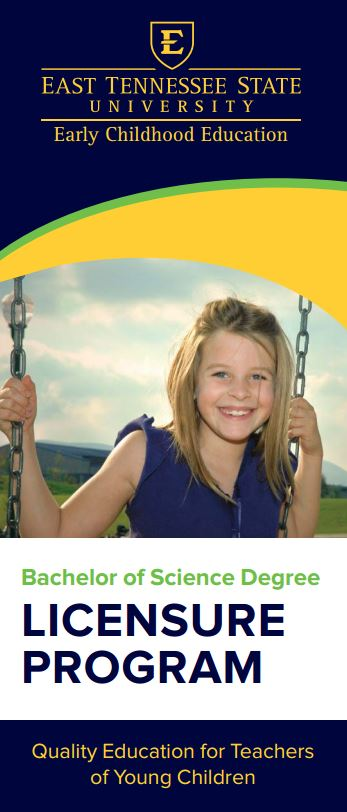 B.S. Licensure (PreK-3) Brochure