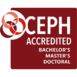 ETSU is CEPH Accredited for Bachelors, Masters, and Doctoral Degrees