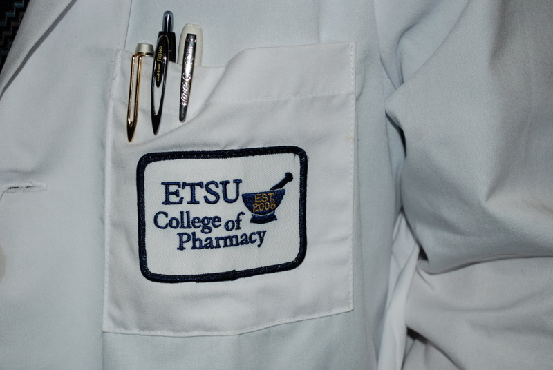 white coat patch