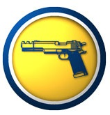 icon of gun