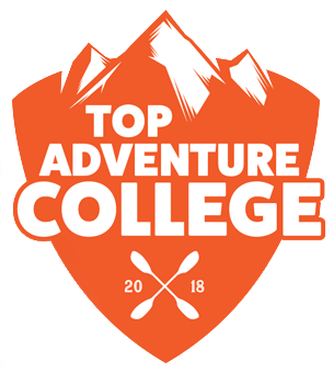 ETSU was honored as a Top Adventure School by Blue Ridge Outdoors Magazine